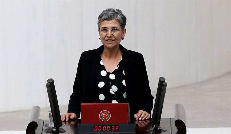 HDP Milletvekili Leyla Güven Meclis'te yemin etti