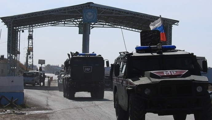 Rus askeri Kobanê'ye geçiş yaptı