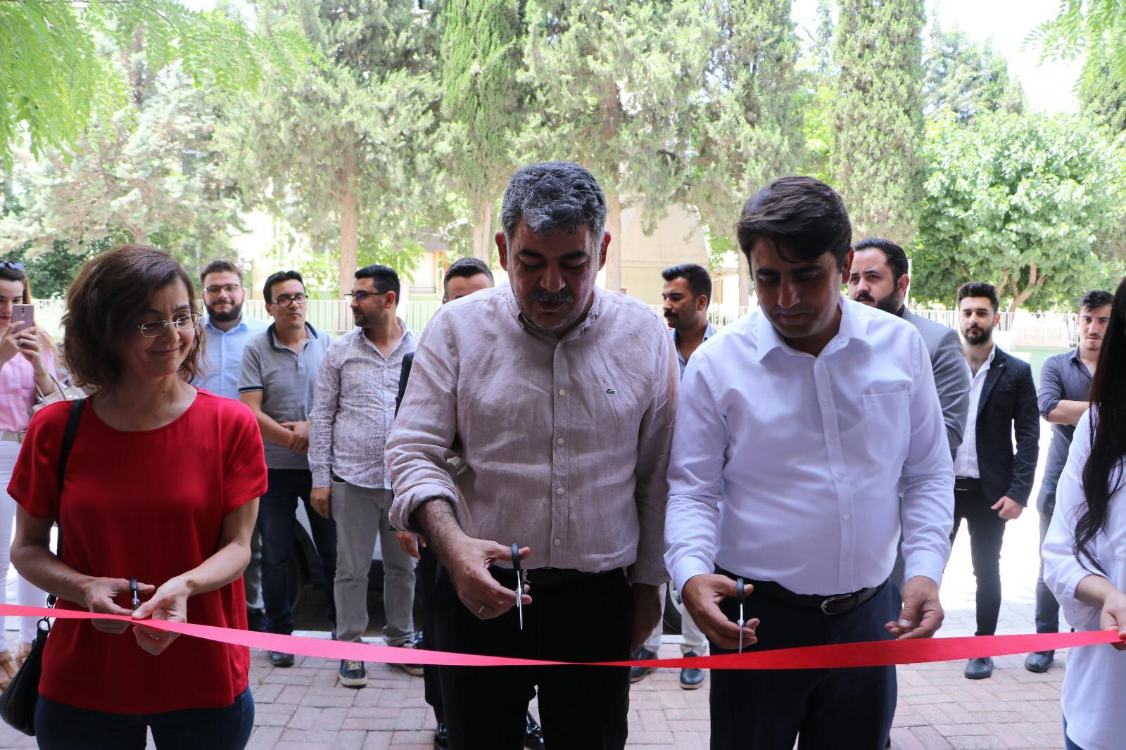 Avukat Mehmet Arıcı hukuk bürosunu açtı