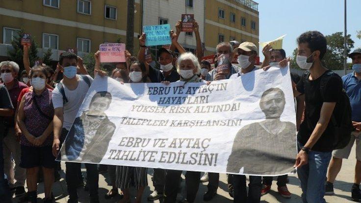 Ölüm orucundaki avukatlar için eylem