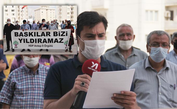 """HDP Gaziantep: """"Bu gözaltı operasyonu değil, intikam operasyonudur!"""""""
