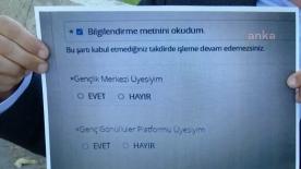 KYK başvurusunda öğrencilere, AKP'nin gençlik yapılanmalarına üye olup olmadığı soruluyor!