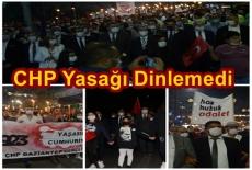 GAZİANTEP CHP CUMHURİYET YASAĞINA DUR DEDİ