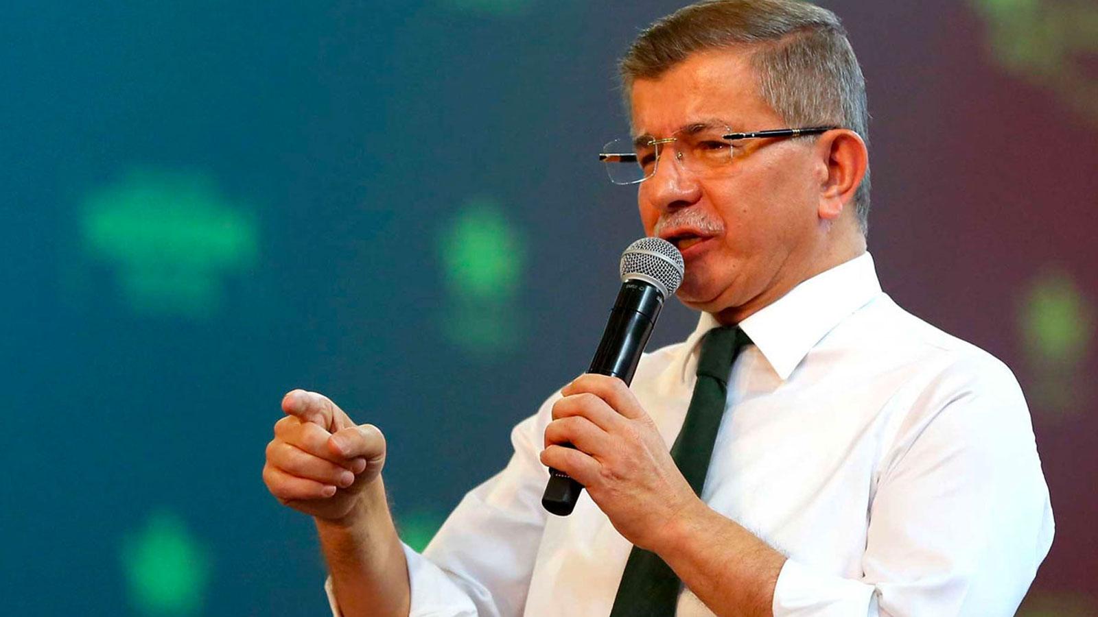 Davutoğlu'ndan Erdoğan'a Kanal İstanbul yanıtı: İstanbul'u katletmenize izin vermeyeceğiz!