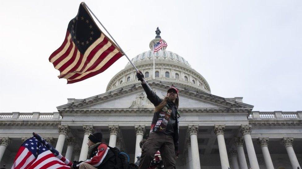 ABD'de Kongre'ye 'milis' tehdidi: Bir oturum iptal edildi