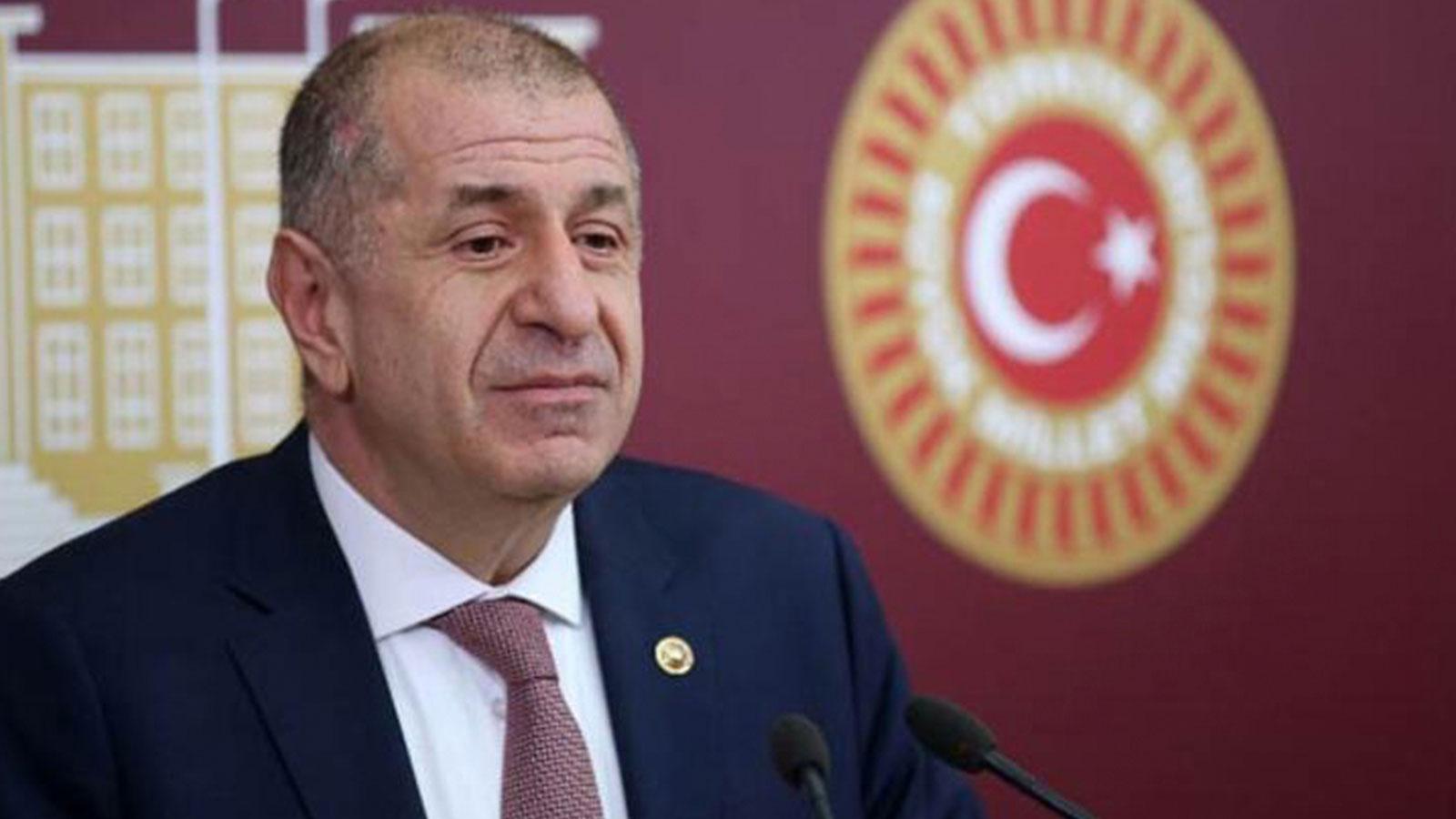 Mahkeme kararıyla İYİ Parti'ye dönen Ümit Özdağ istifa etti