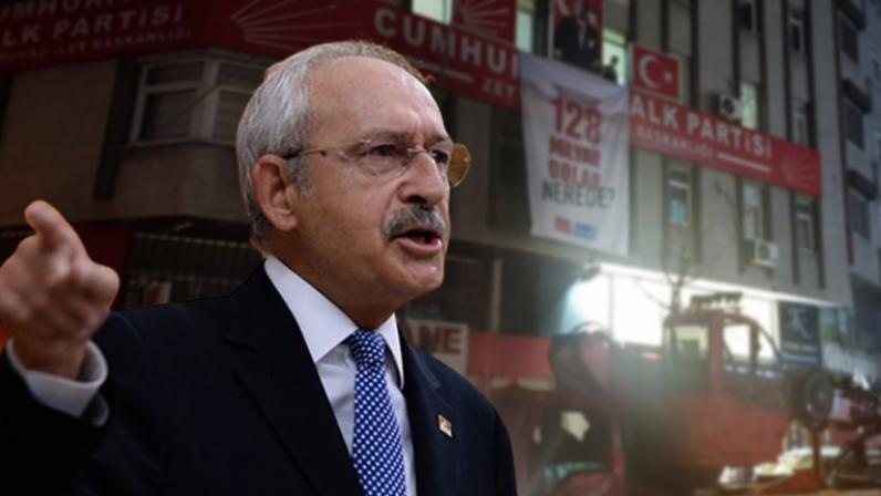 Kılıçdaroğlu'ndan Erdoğan'a pankart tepkisi: Gece yarısı vinçlerin yetmemiş, Özel Harekât Polislerini baskına göndermişsin