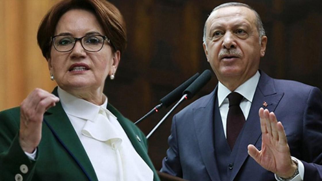 Akşener'den Erdoğan'a: Senin şirazen artık iyice kaydı, milletinin zor durumuyla alay etmek, bir Cumhurbaşkanı'na yakışmaz