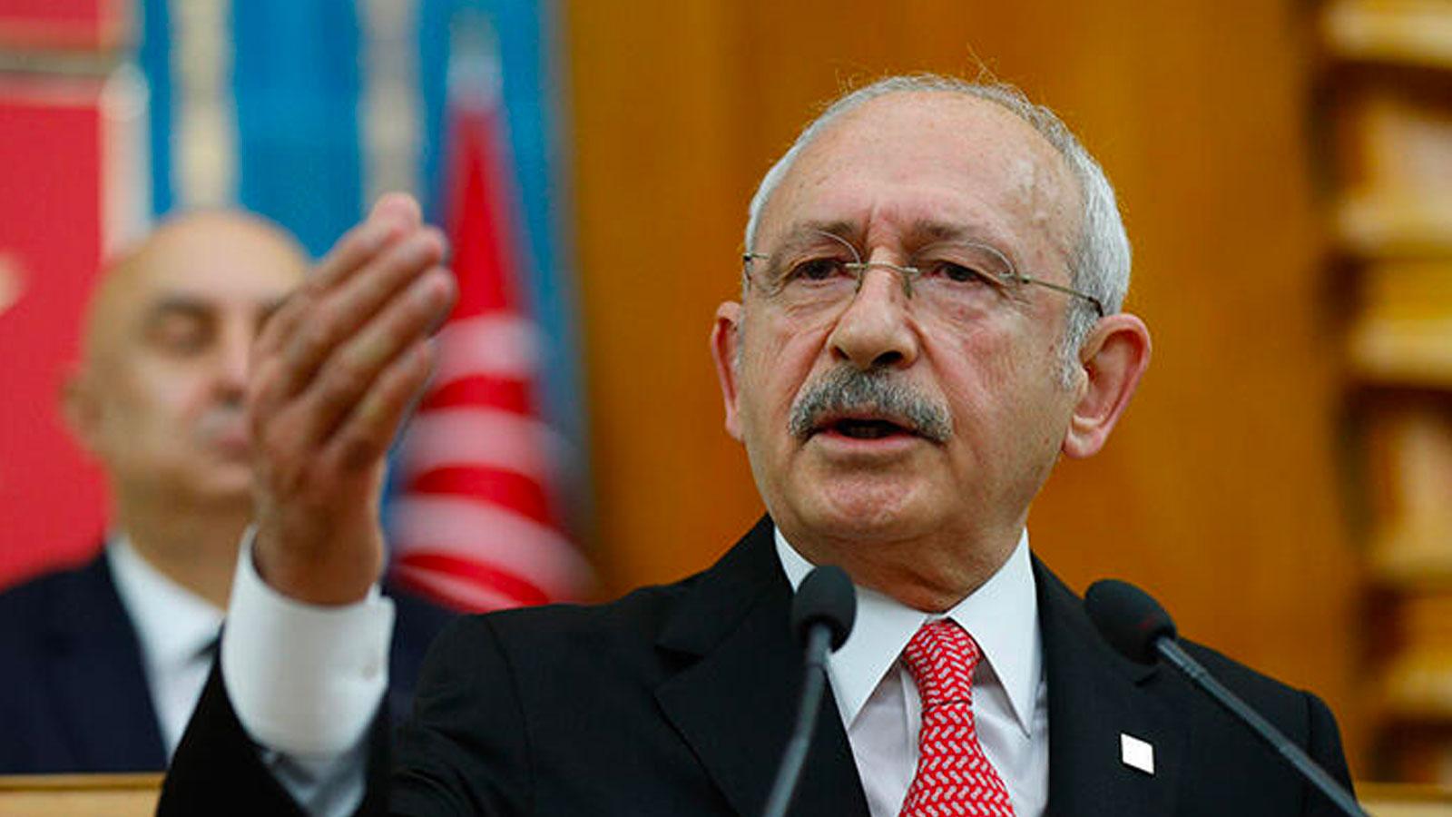 Kılıçdaroğlu: Gırtlağına kadar lağım kuyusuna batmış kişi memleketi mi kurtaracak?