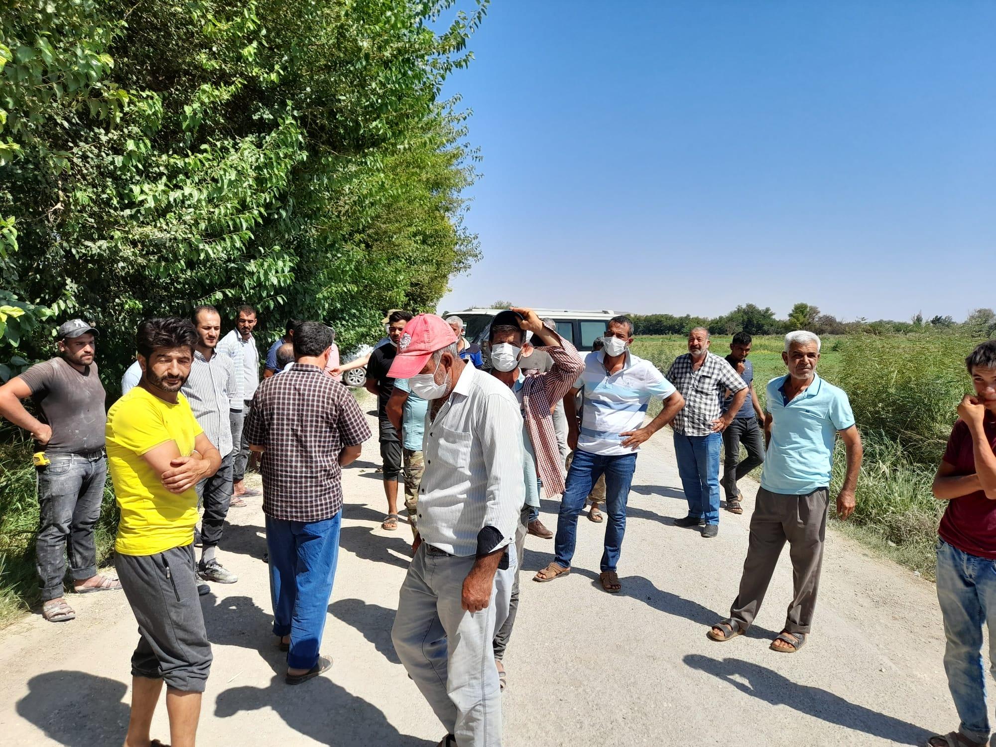 Gaziantep köylüsünden  Şahin'e: Yolumuzu kasıtlı yapmıyor