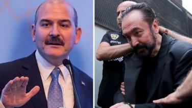 Adnan Oktar cezaevinden mektup gönderdiği Süleyman Soylu'nun telefonlarını dinliyordu
