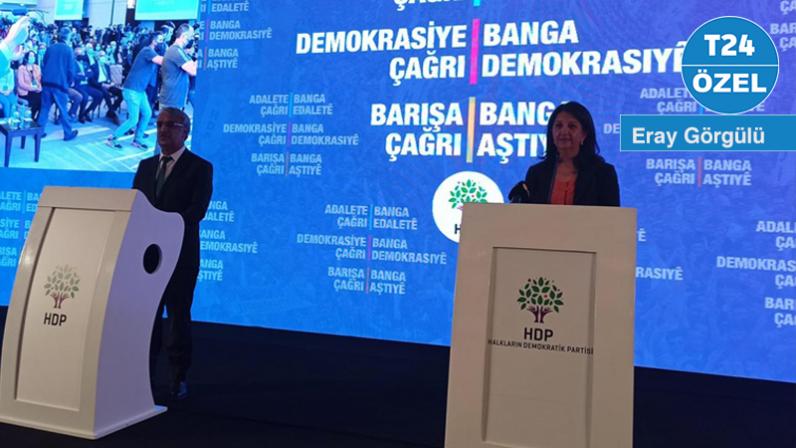 """HDP'nin Tutum Belgesi'nde """"Kürt sorunu için çözüm adresi Meclis"""" vurgusu"""