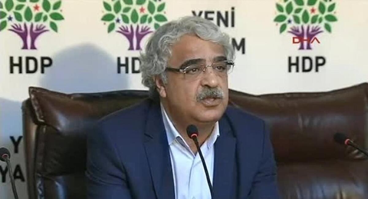 HDP Eş başkanı Sancar;  ortak aday çıkarılması fikrine açığız