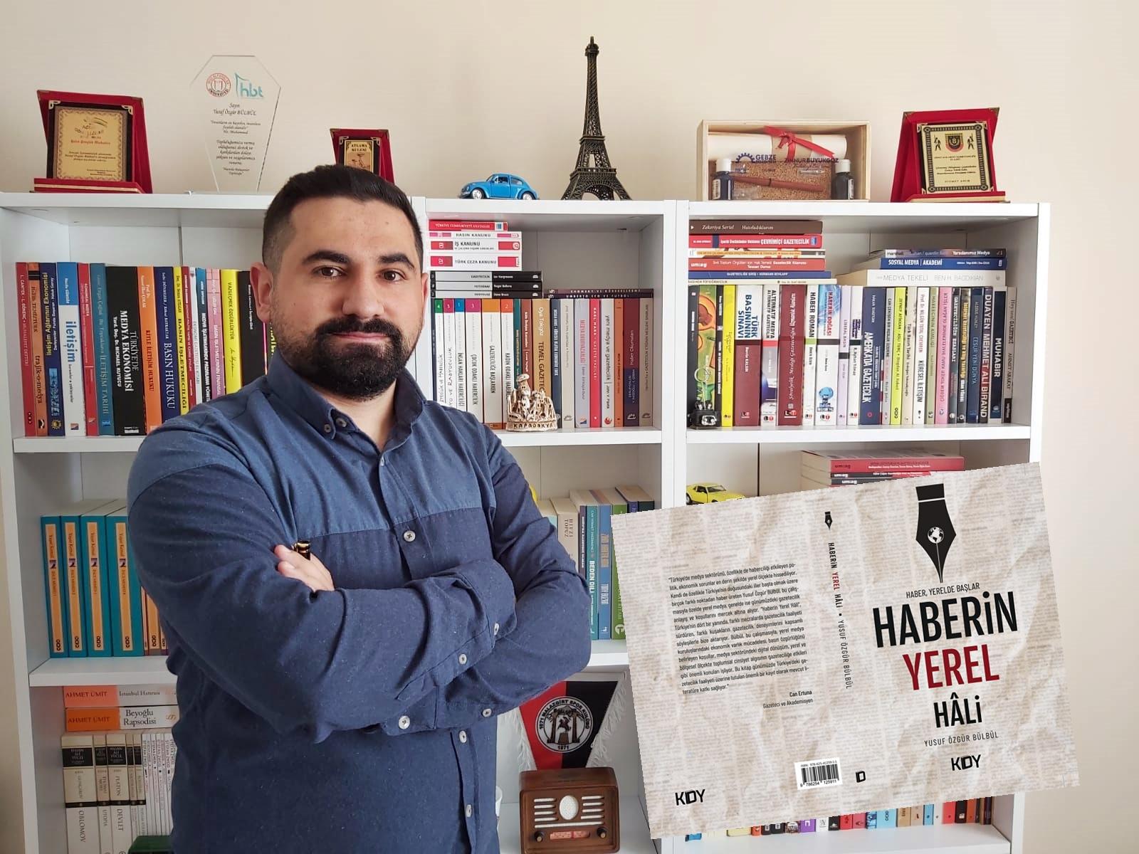 Gazeteci Bülbül'ün ikinci kitabı raflarda