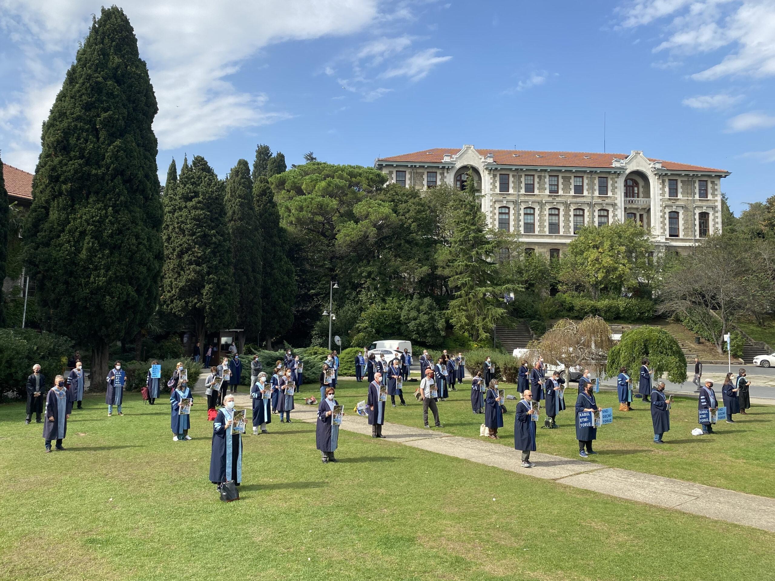 Boğaziçi Üniversitesi'nde akademisyenlerin nöbeti 189. gününde: Boğaziçi direnişi 282. gününde